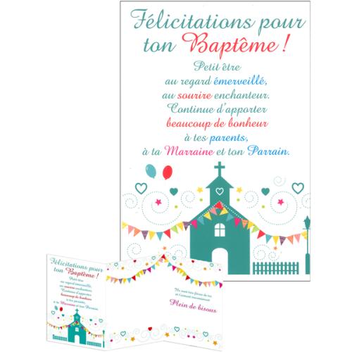 Texte Pour Carte De Felicitation De Bapteme Texte Prefere